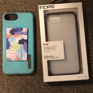 Incipio brand I phone 8 plus cases